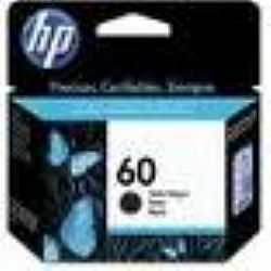 Cartucho Original HP 60 Preto - C640 HP - 4ml