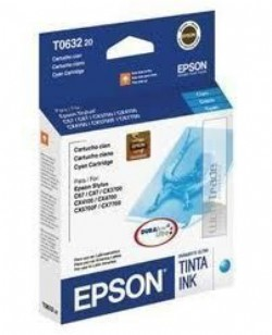 Cartucho Epson To63220 - Cyan - 8ml